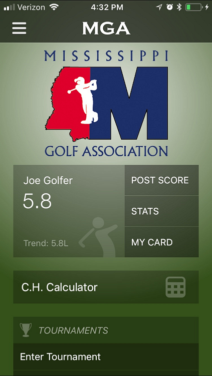 GHIN at your Club | Mississippi Golf Association